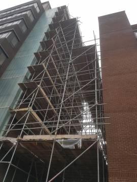 Farnsby St scaffolding