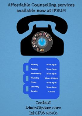 Telephone/Zoom counselling