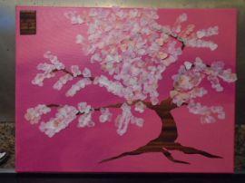 Dans cherry blossom